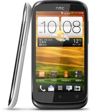 HTC HTC Desire V is another dual sim android phones candidate