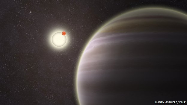 the new planet with four sun